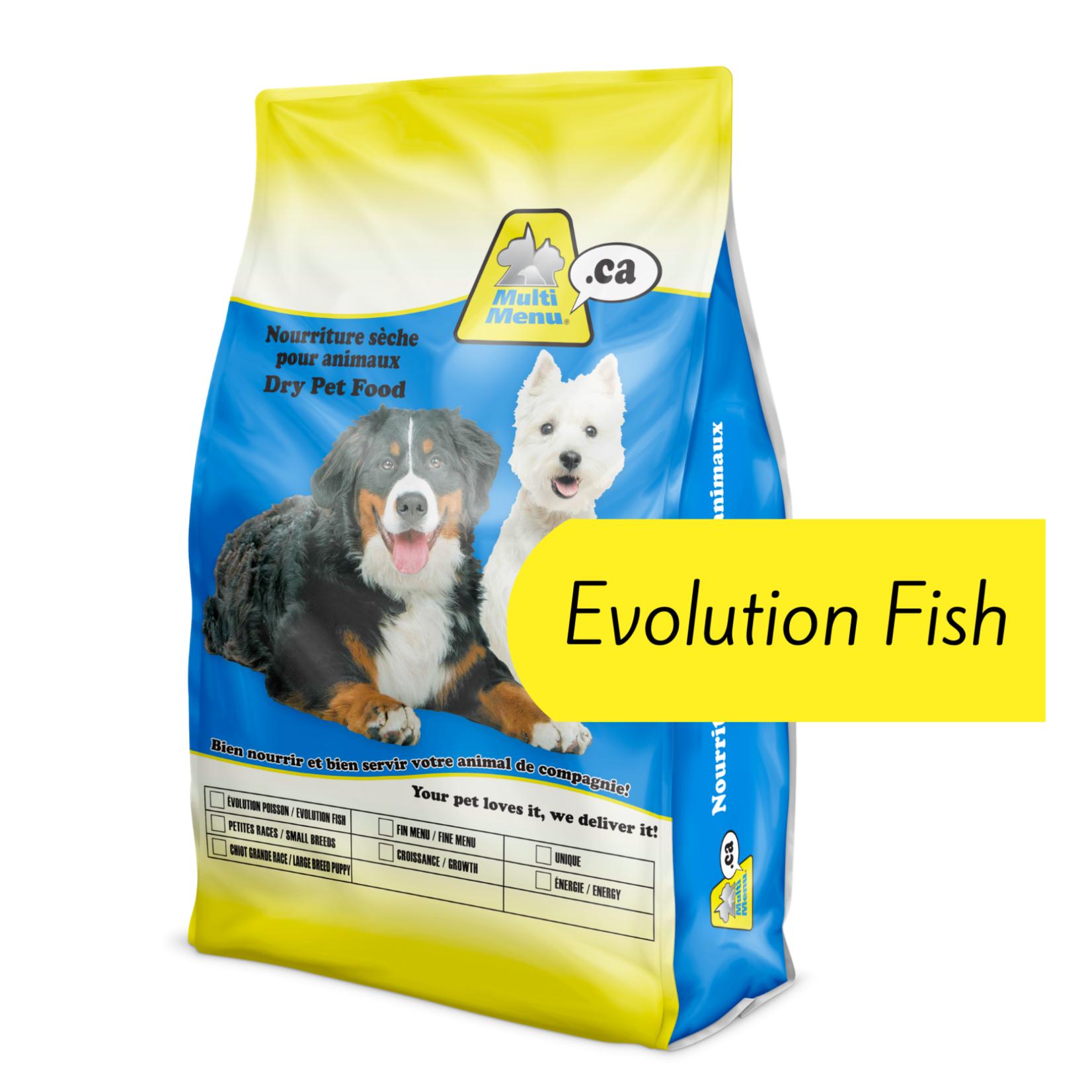 Multi Menu Multi Menu Dog Food Evolution Fish