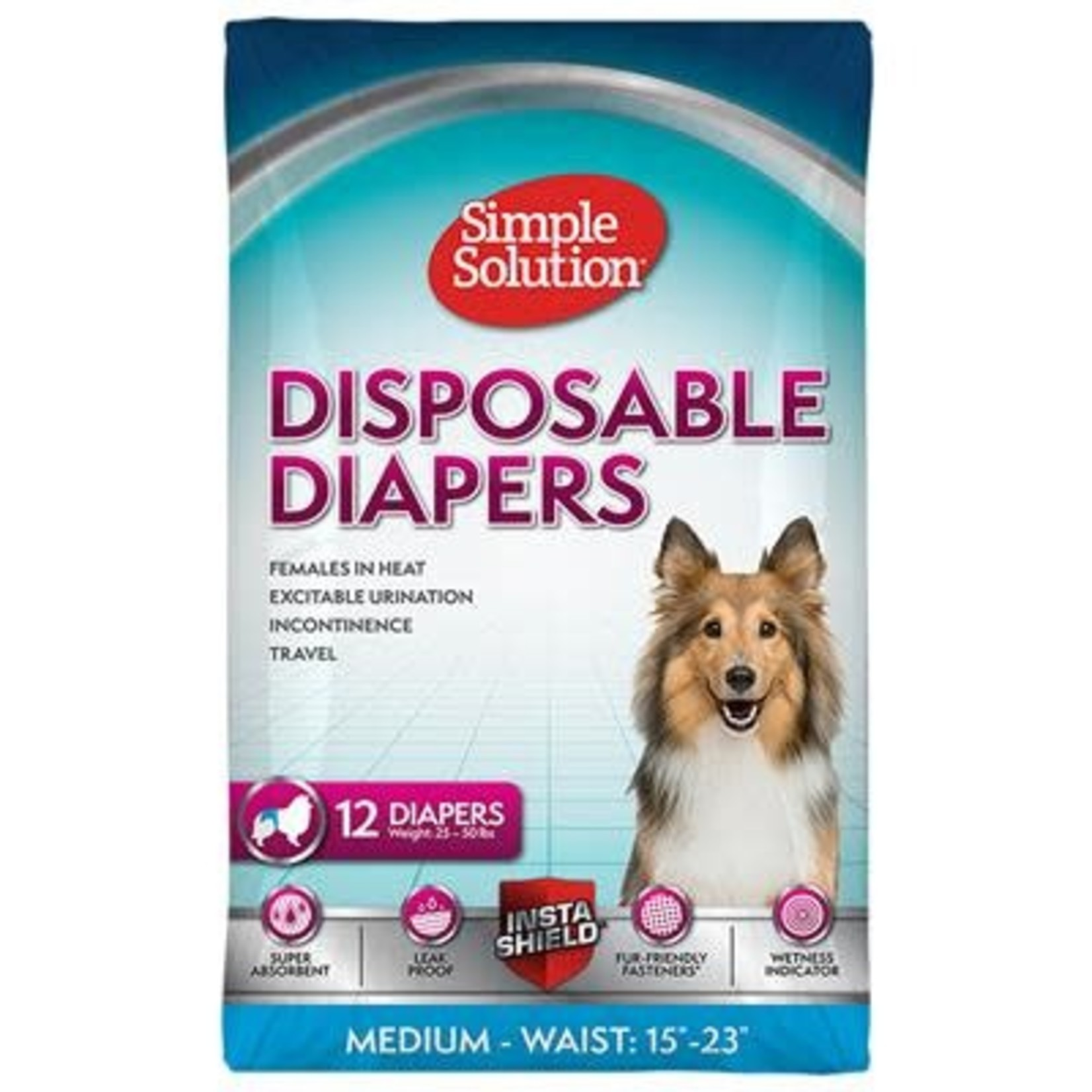Disposable Female Diapers 12pk