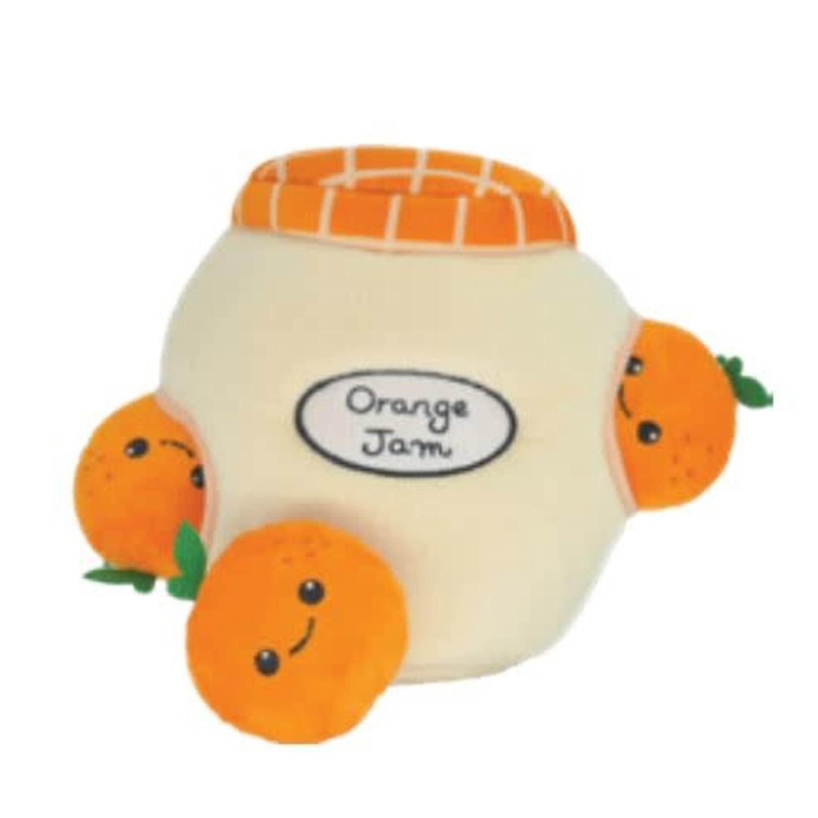 """Orange Jam dog toy 7"""""""