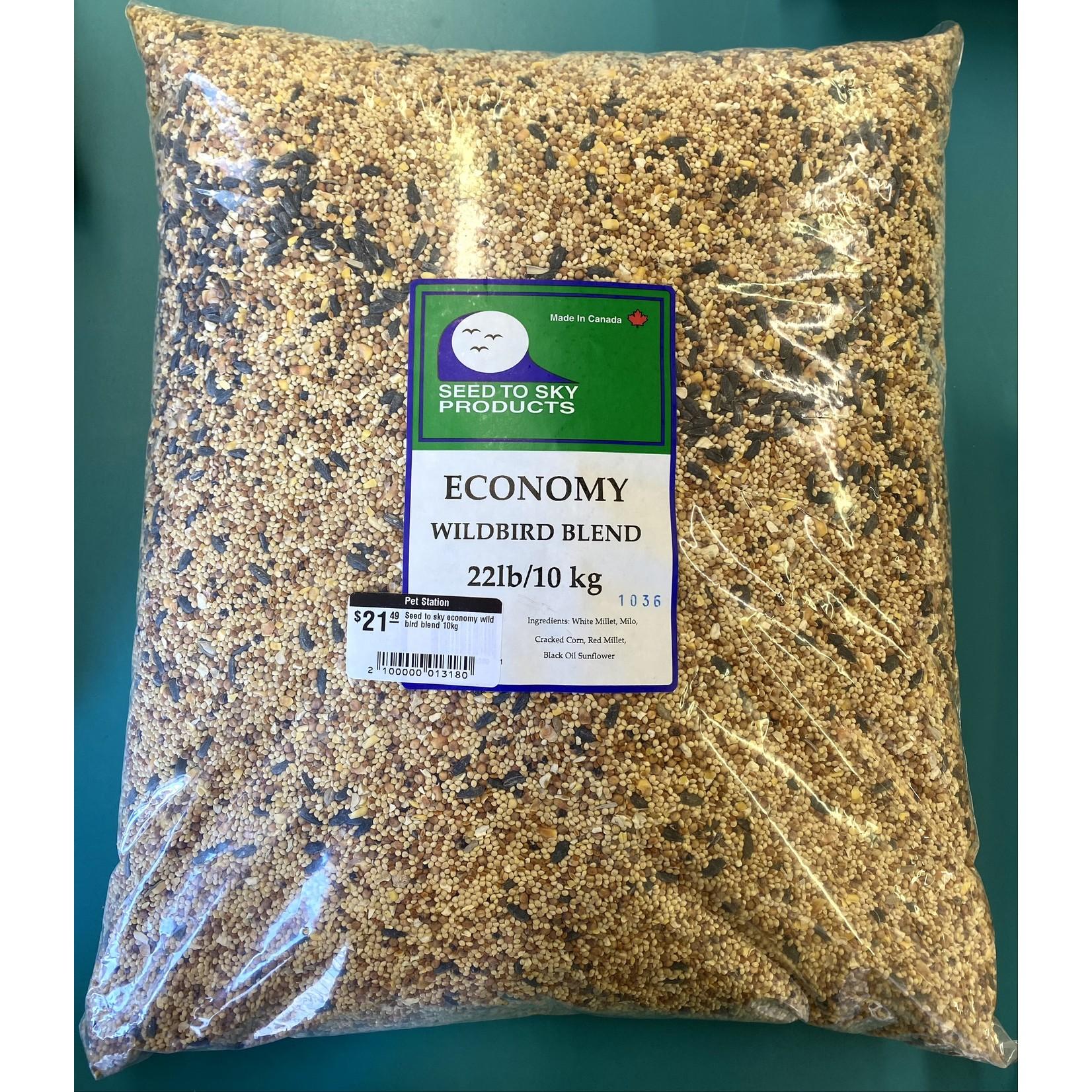 seed to sky Seed to sky economy wild bird blend 10kg