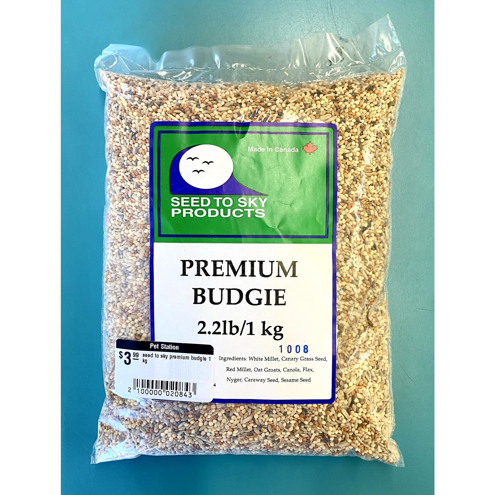 seed to sky seed to sky premium budgie