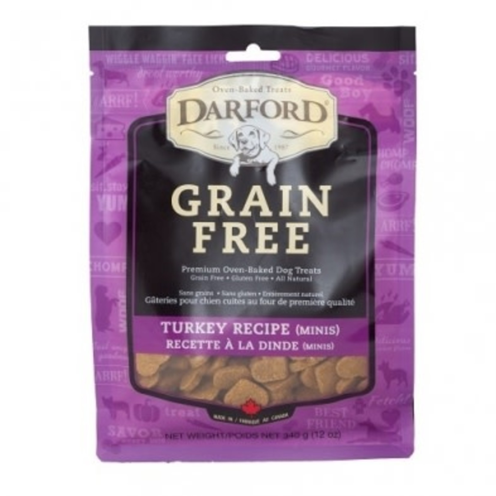 darford Darford grain free Turkey Minis 340g/12oz
