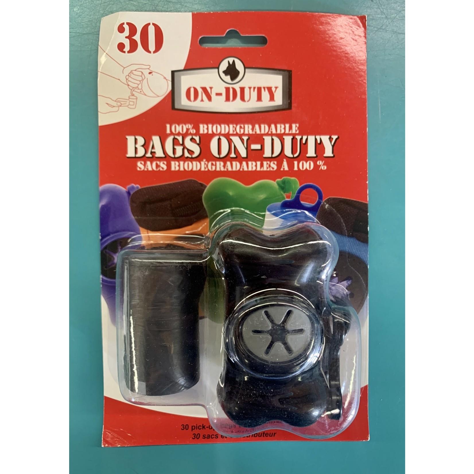 On Duty Poop bag dispenser 2 rolls