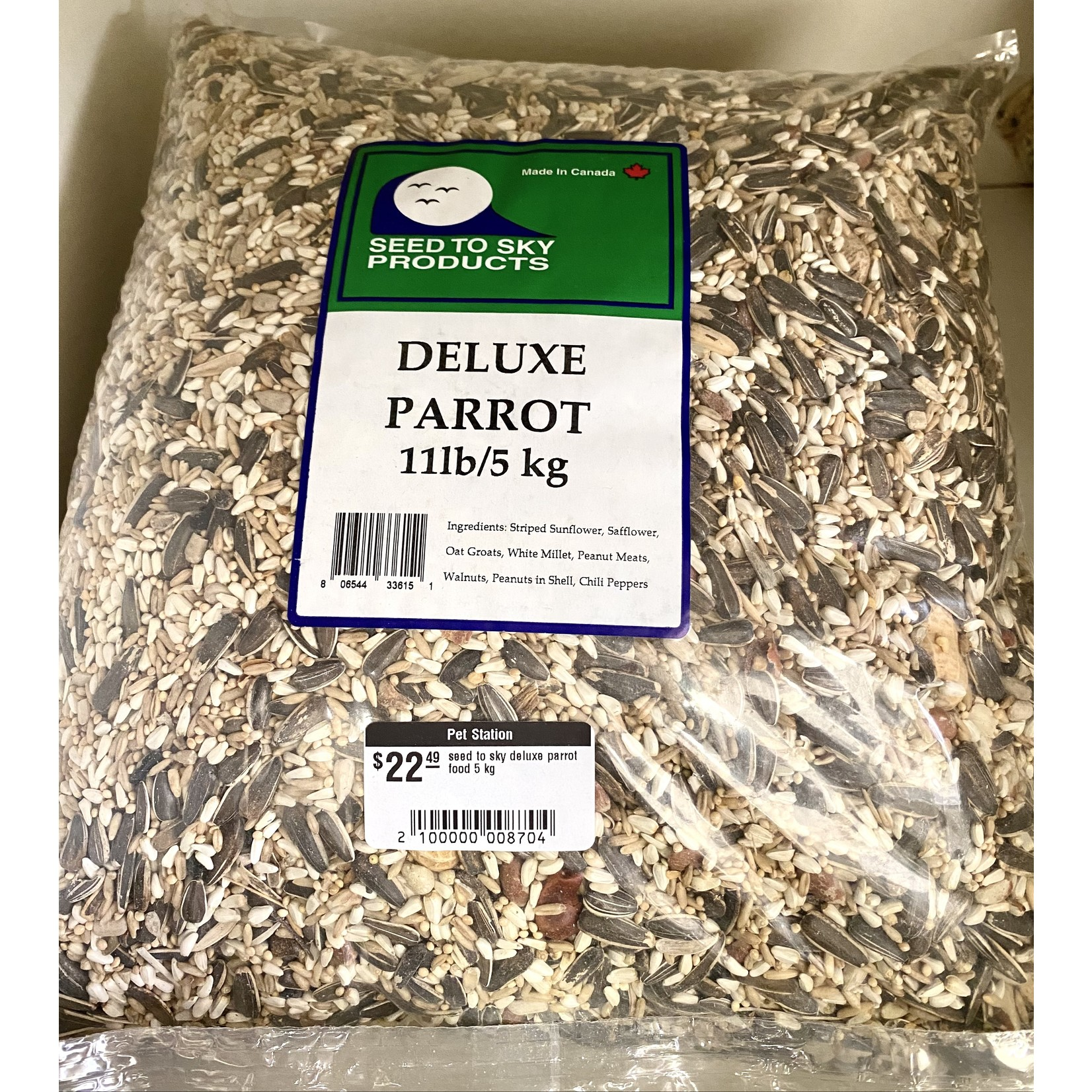seed to sky seed to sky deluxe parrot food 5 kg