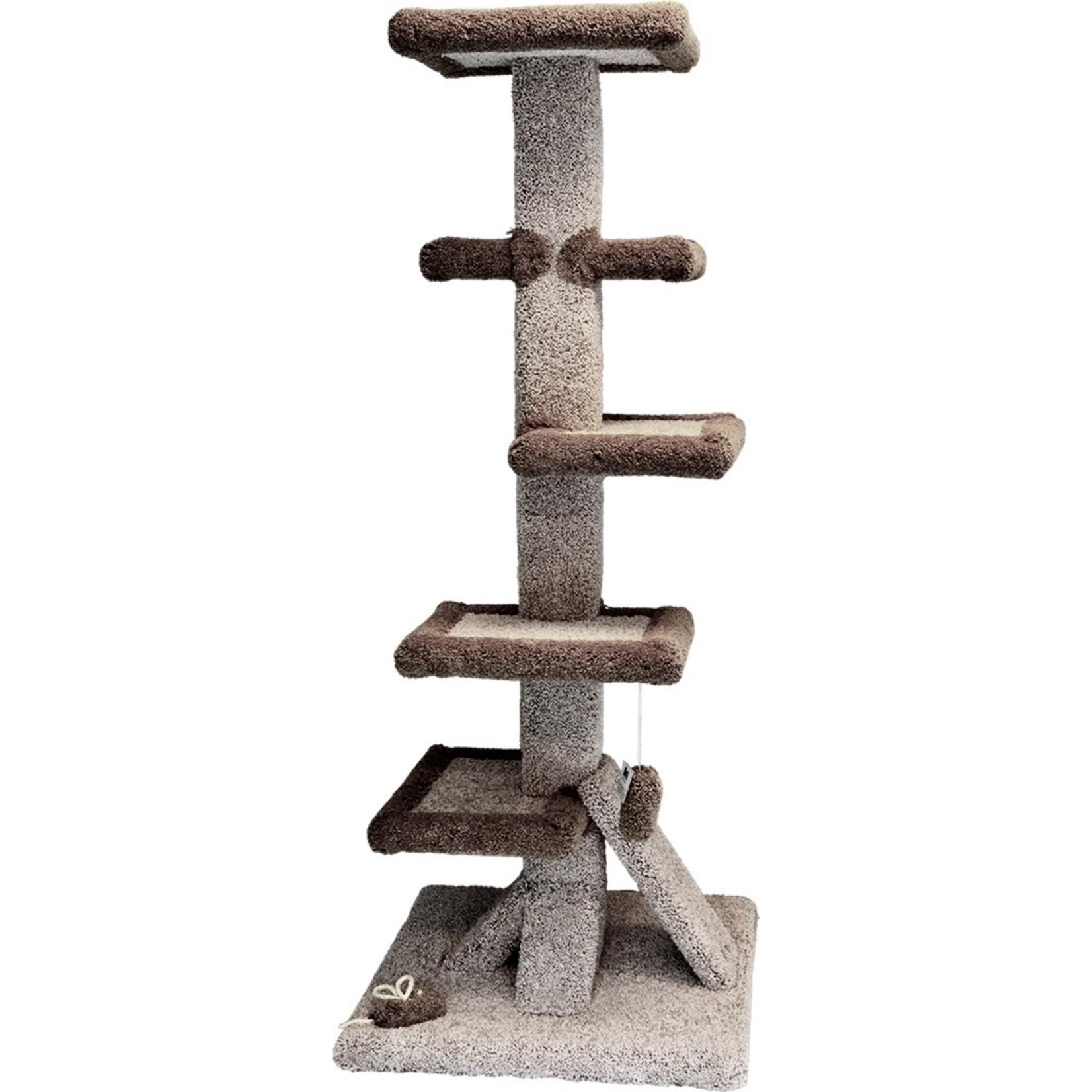 "Hereto Cat tree 5 level 5"" high"