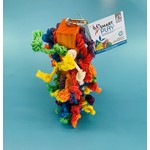 HR Smart Play Bird Toy Rope + Block