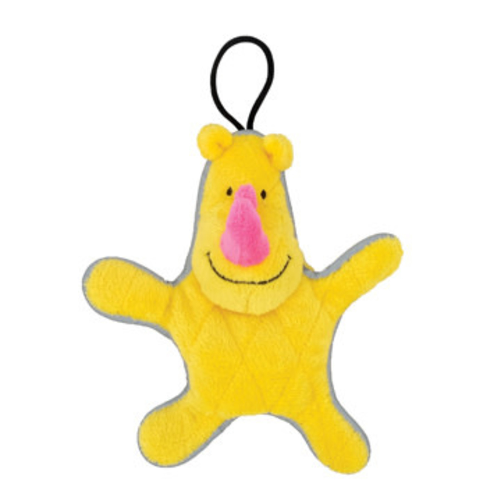 Zeus Mojo Small Dog Toy Yellow