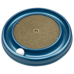 Coastal Turbo Scratcher Ring with Ball Cat Toy