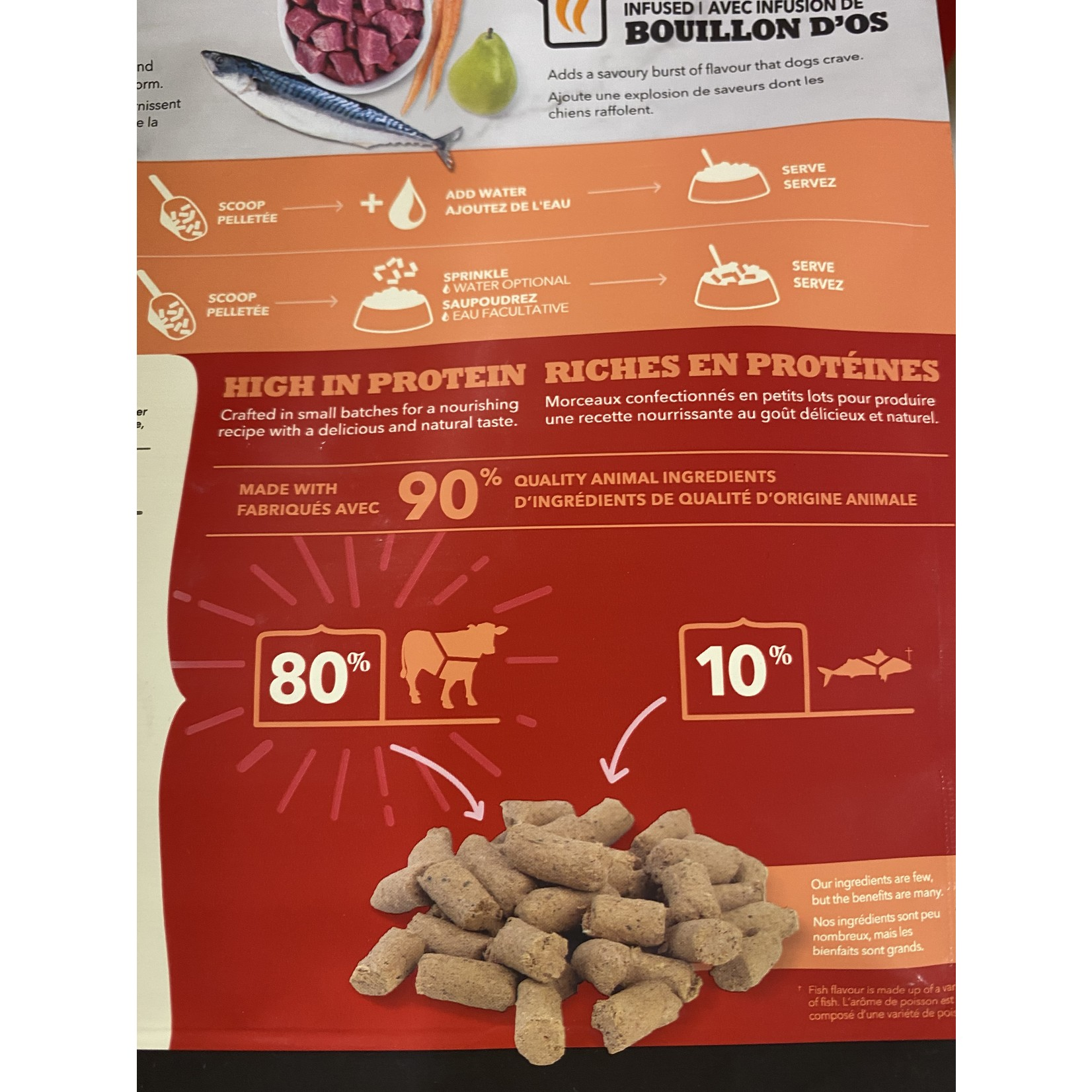 ACANA Acana Freeze Dried beef Morsels 227G