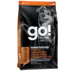 Go! Go! Dog Sensitivities LID GF Venison 22 lb