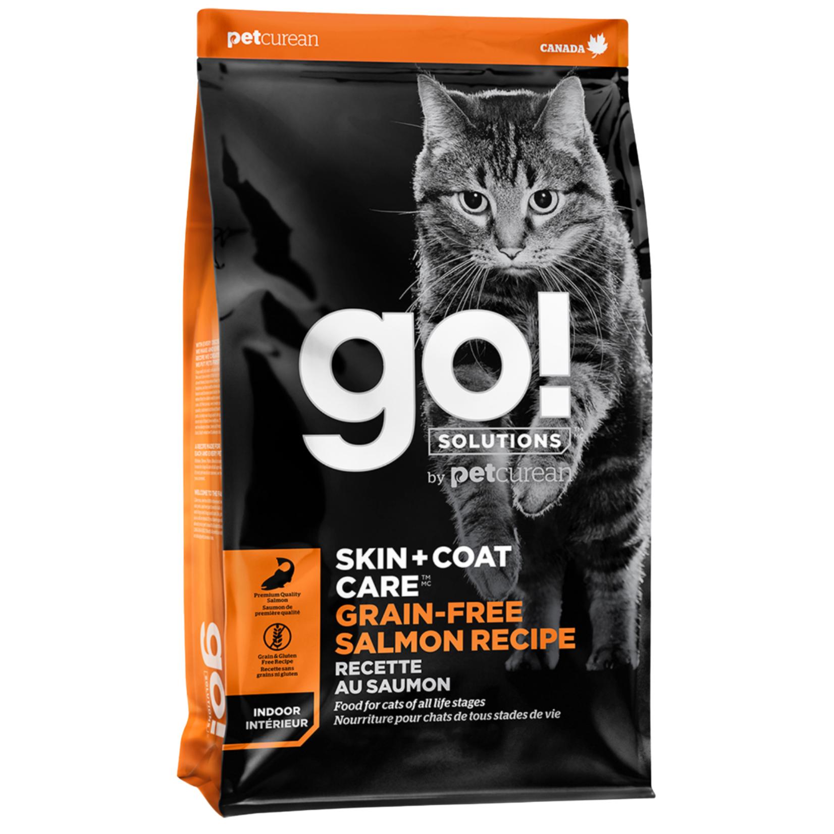 Go! Go! Cat Skin + Coat Care GF Salmon