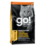 Go! Go! Cat Sensitivities LID GF Duck