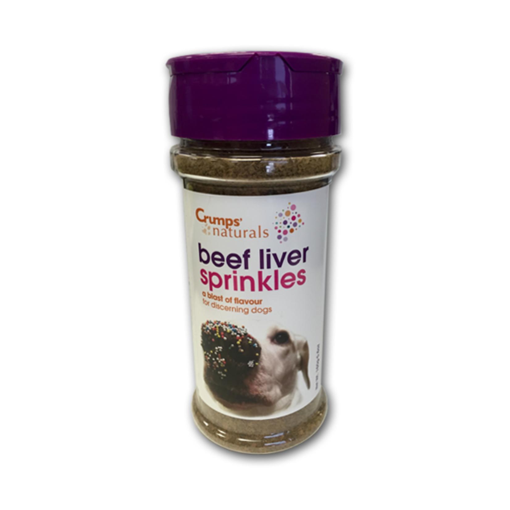 Crumps' Naturals Liver Sprinkles 160g bottles