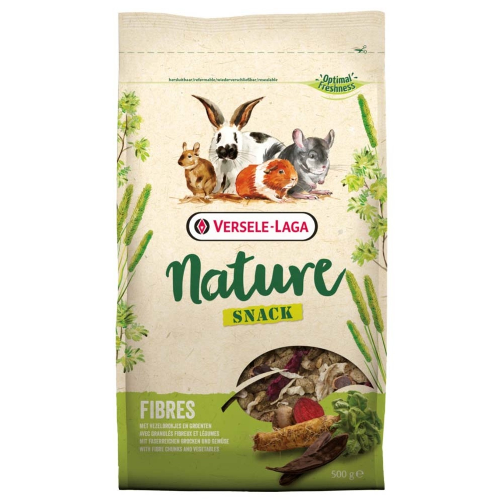 Versele-Laga Nature Snack for small animals 500g Fibers