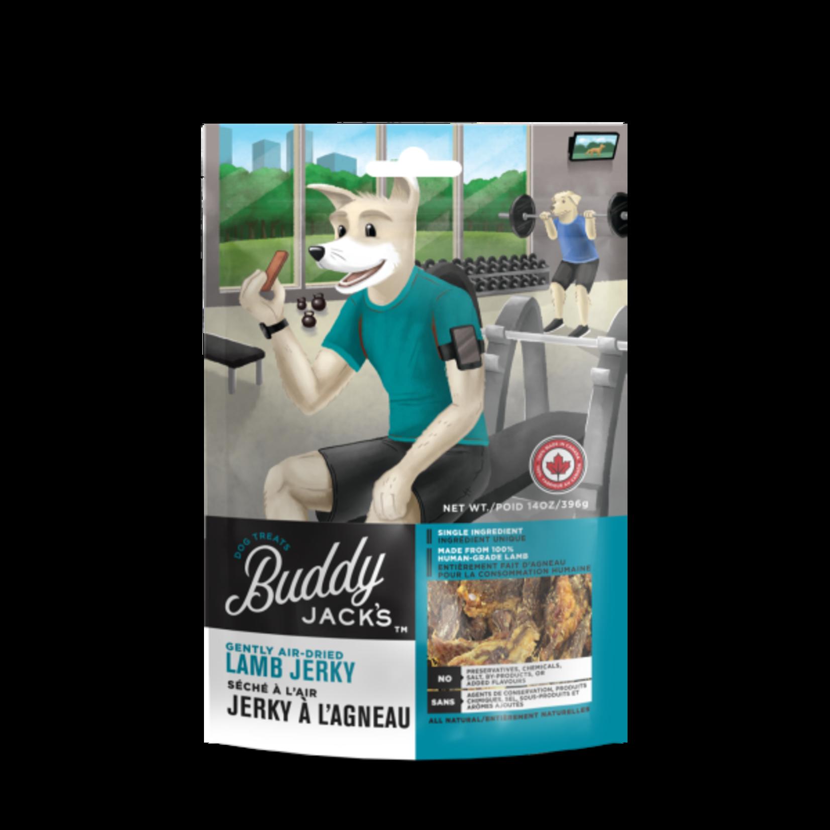 Buddy Jack's Buddy Jack's Dog treats GF Lamb Jerky 396g
