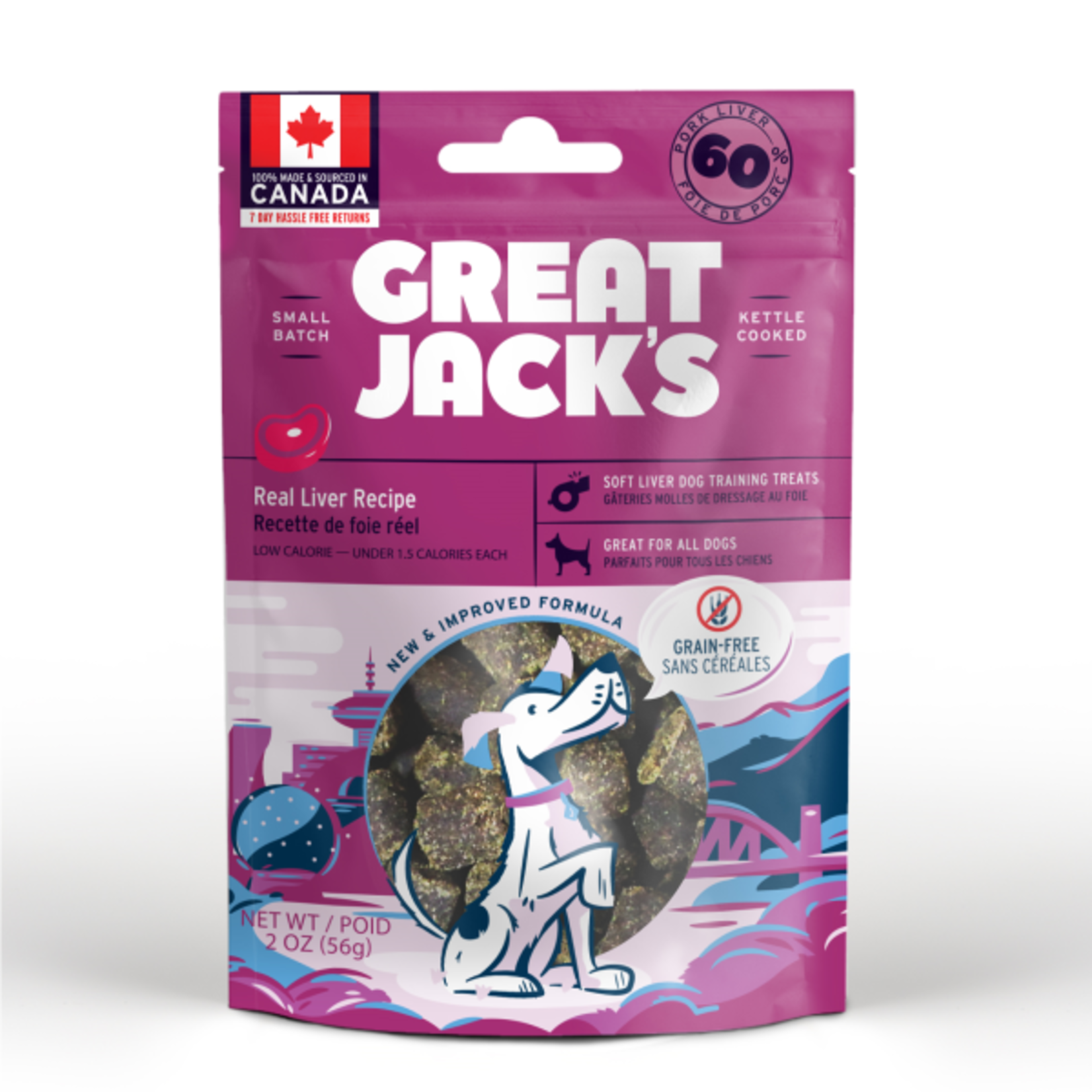 Great Jack's Great Jack's Dog  training treat liver