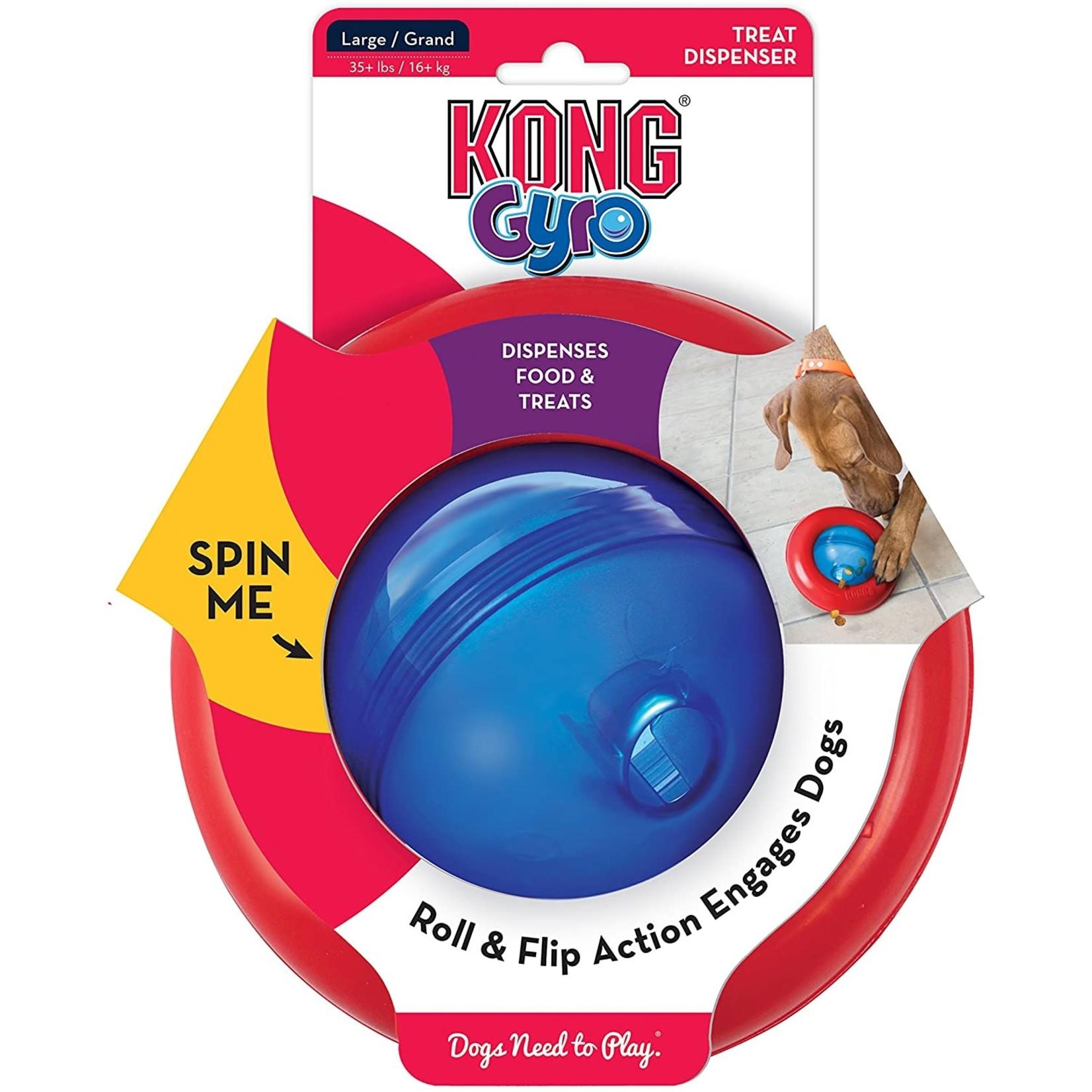 Kong Kong Gyro Treat Dispenser Large