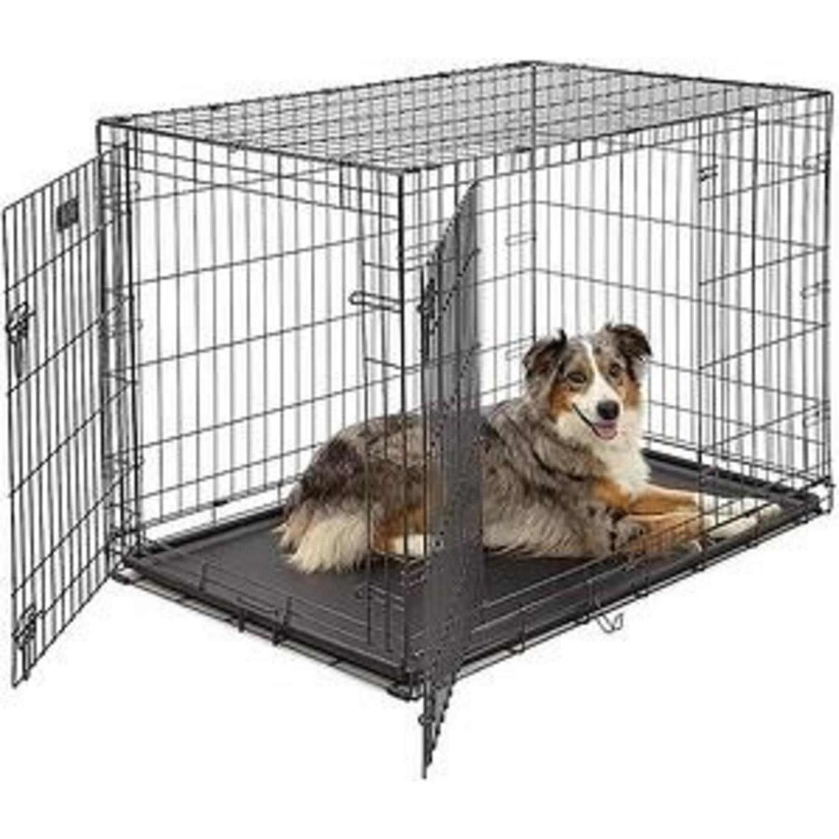 Double Door Wire Pet Crate