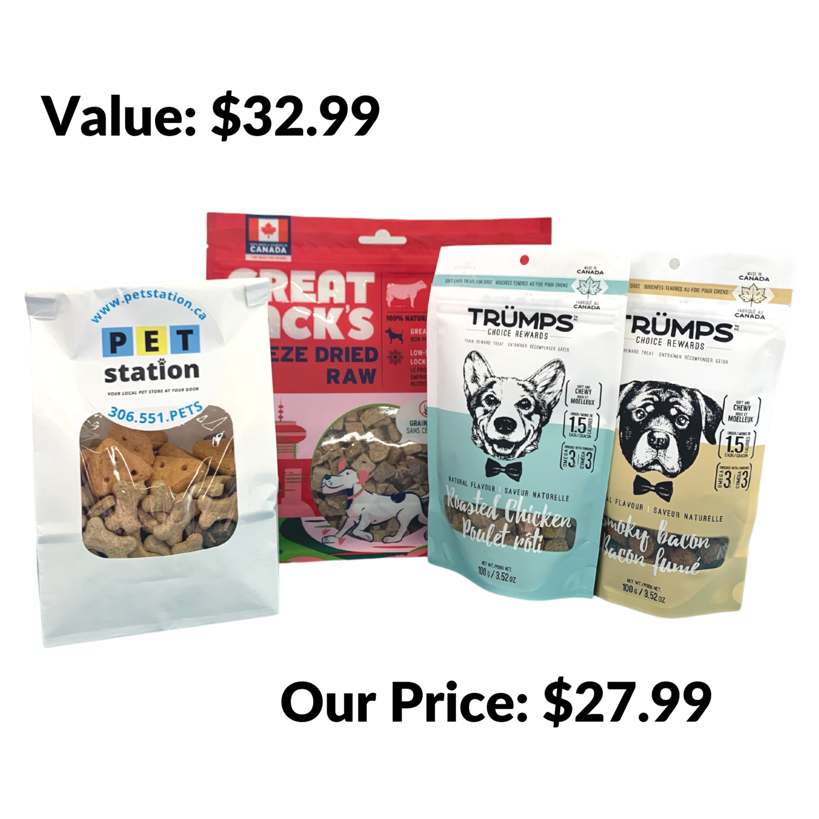 Training Treat Package