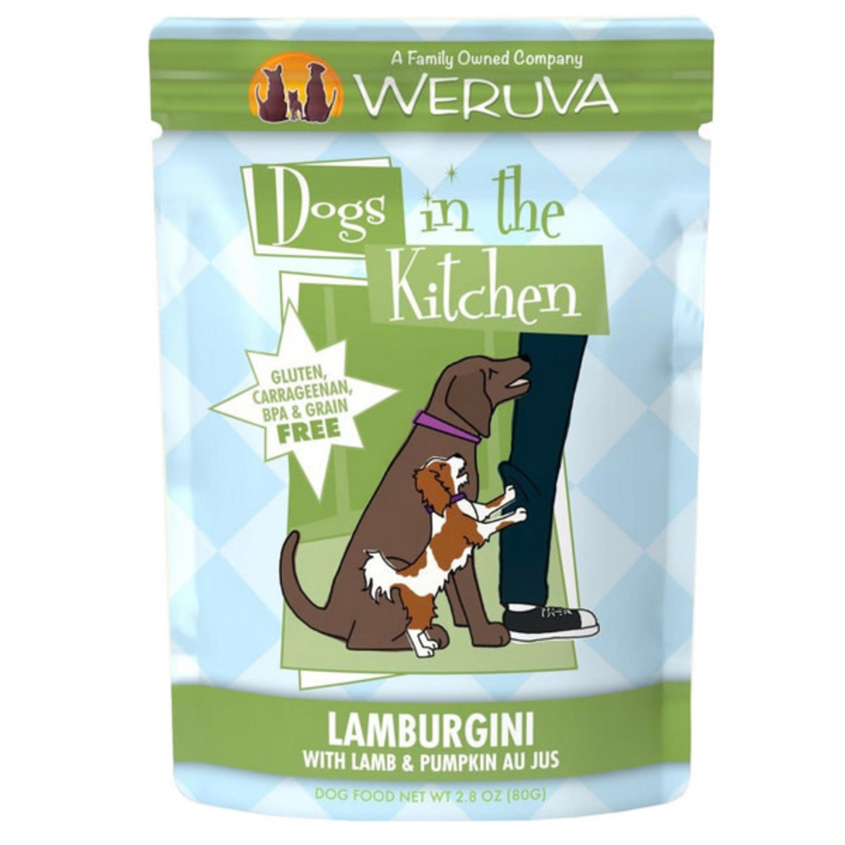 Weruva Weruva dogs in the kitchen Lamb + pumpkin