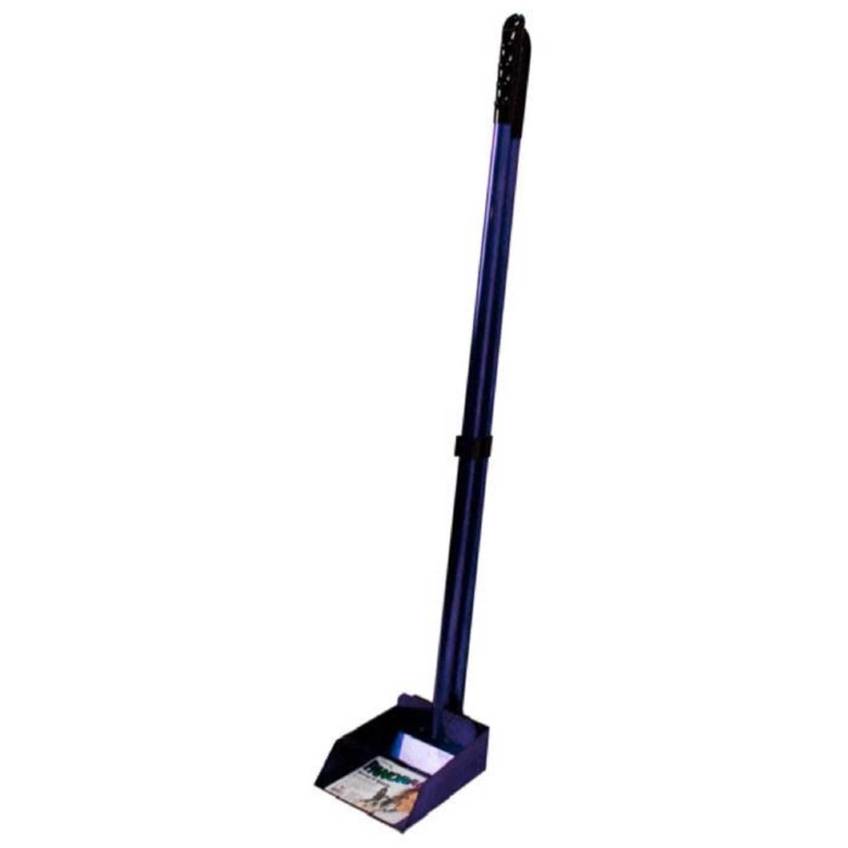 flexrake scoop and spade small purple
