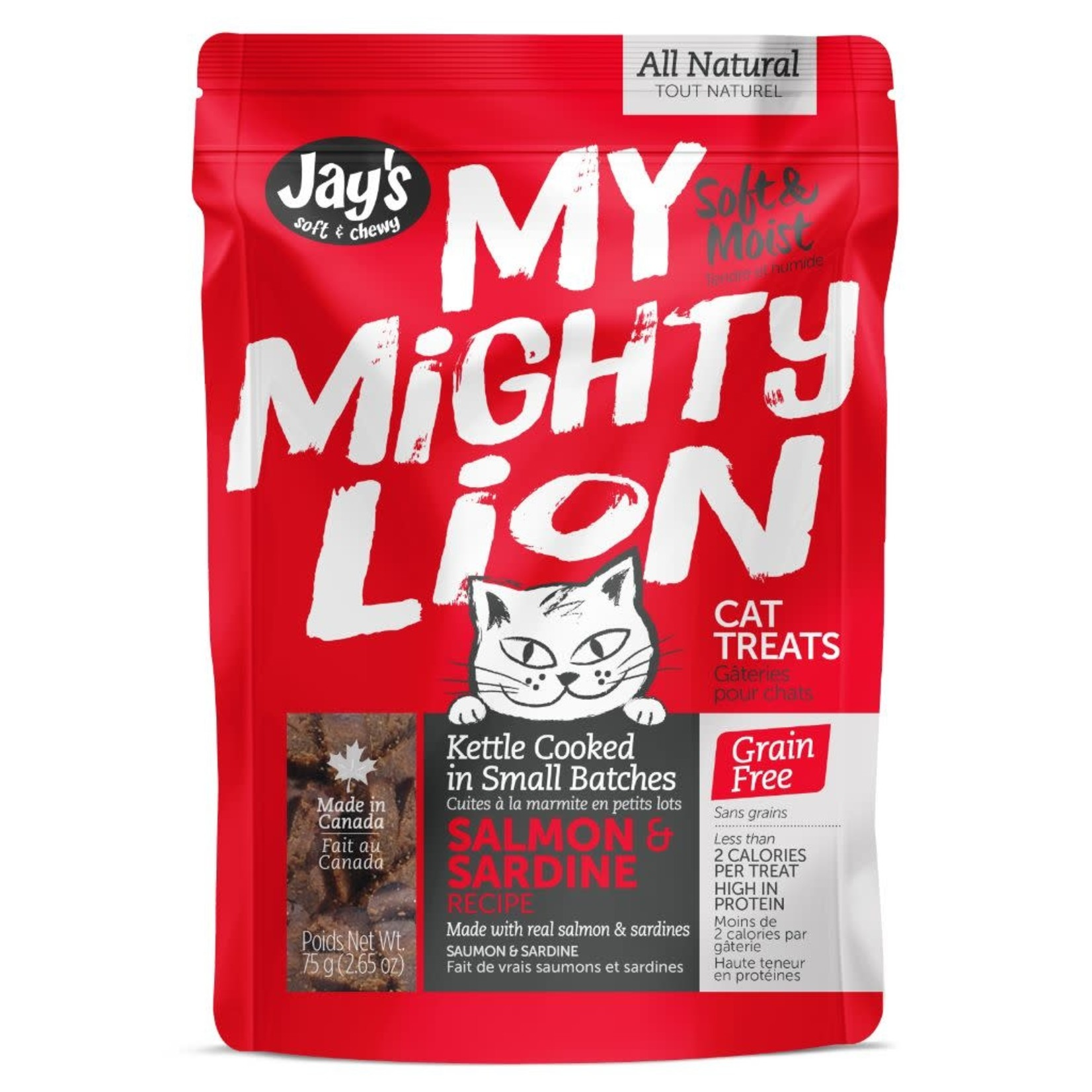 My Mighty Lion Salmon Cat 75GM