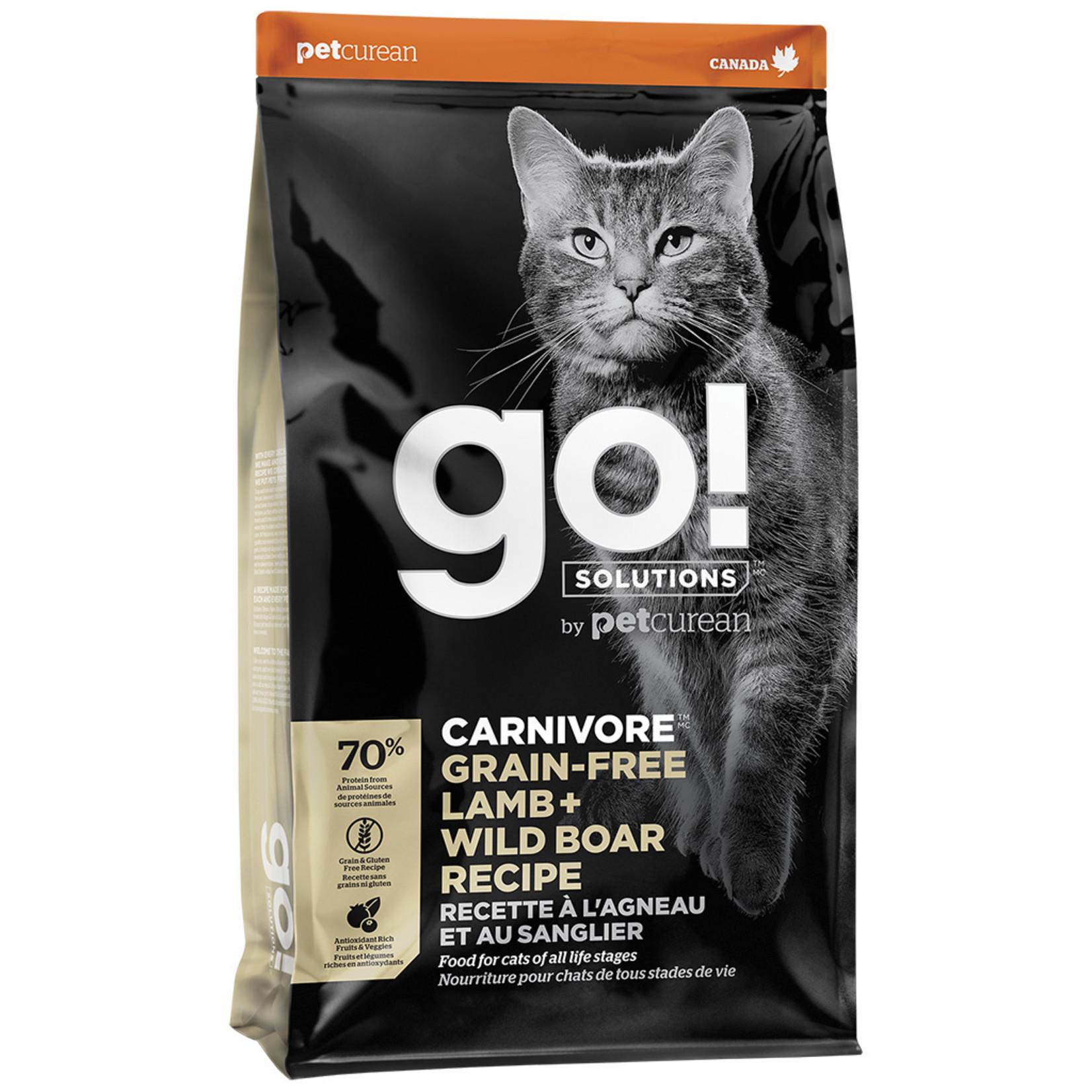 Go! Cat Carnivore Lamb + Wild Boar