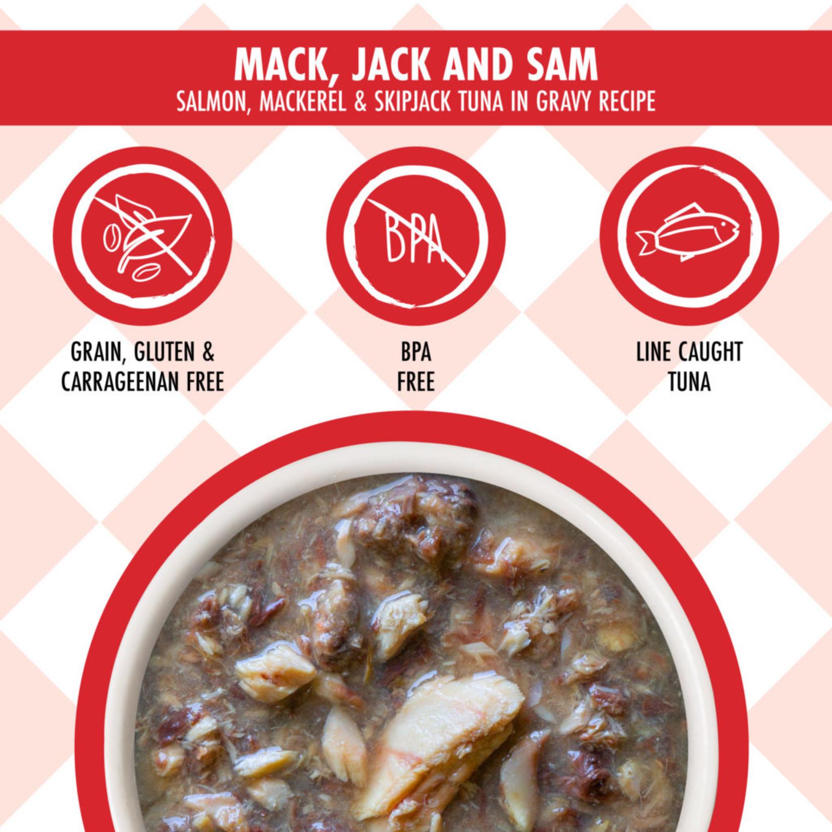 Weruva Weruva Cats in the Kitchen Salmon + Mackerel + Tuna in gravy  3oz