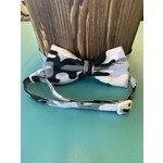 Hand Mades By Mom Grey Camo Bow Tie with adjustable Collar  L