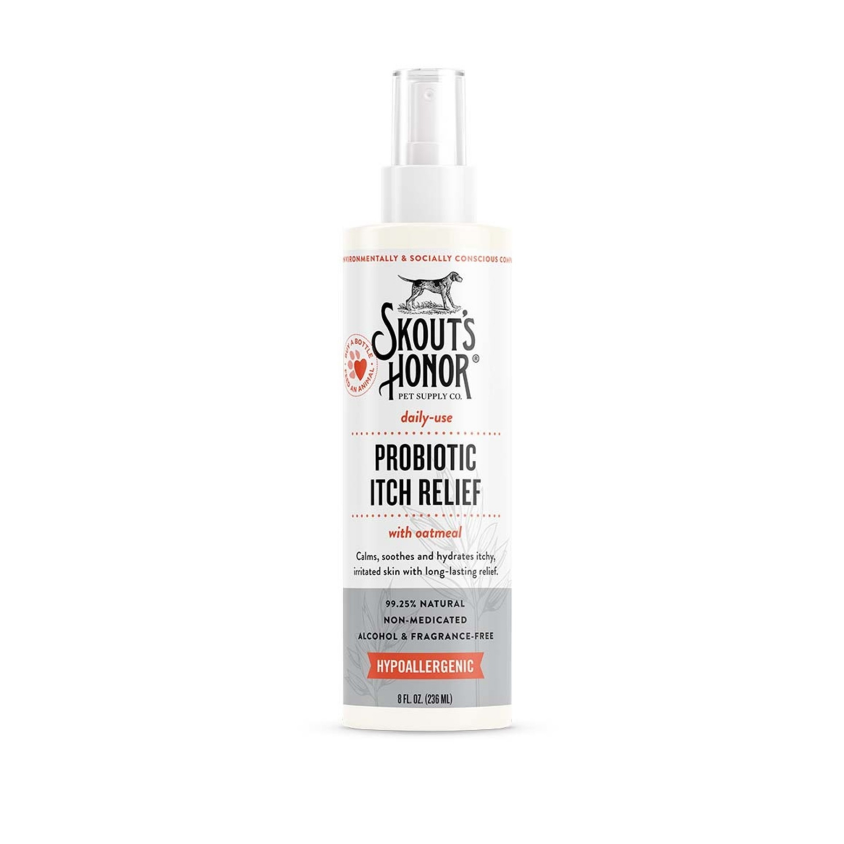 Skout's Honor Skouts Honor Itch Relief Hypoallergenic 8OZ