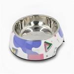 Hugsmart White Stainless Steel Bowl 12oz