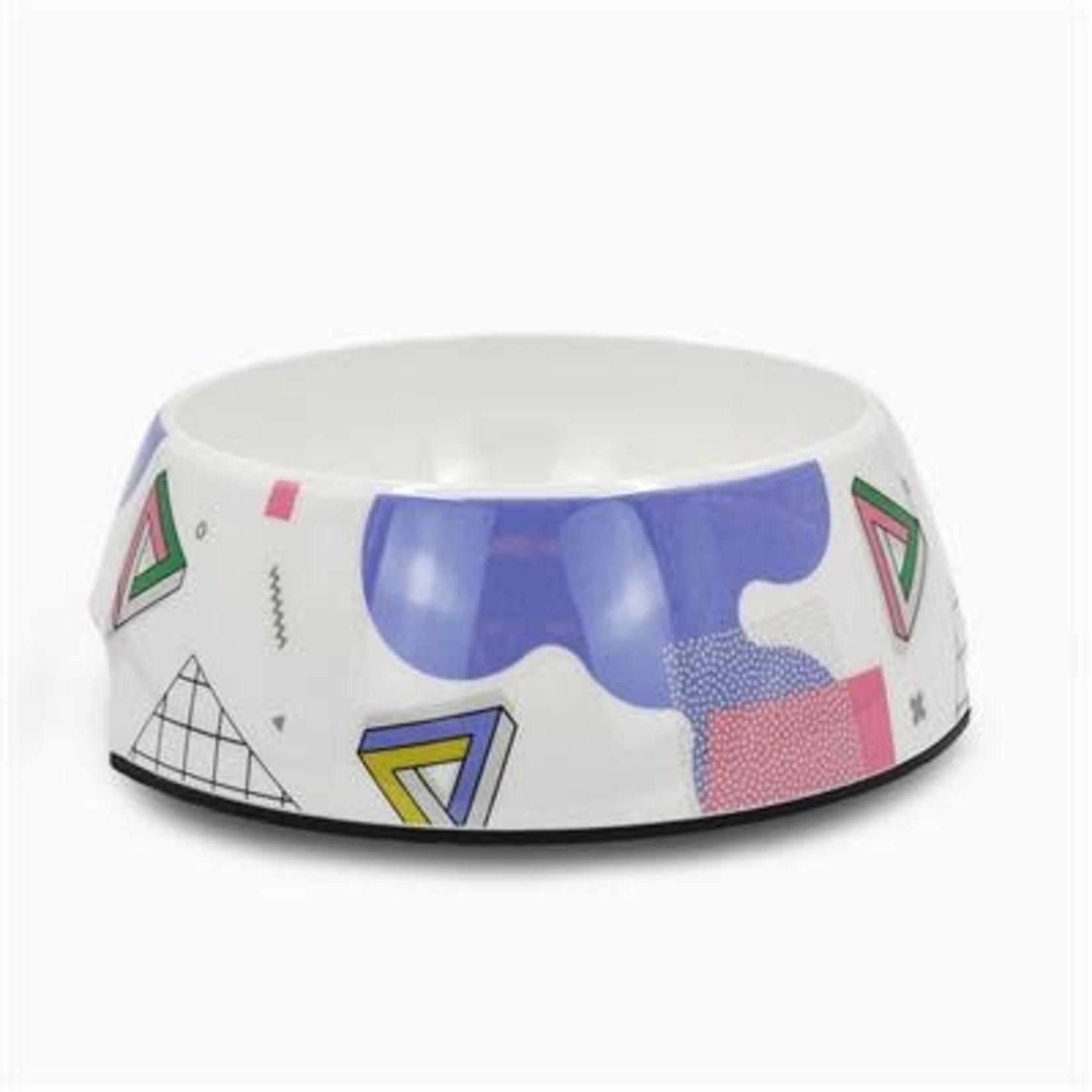 Hugsmart White Stainless Steel Bowl 24oz