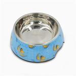 Hugsmart Blue Stainless Steel Bowl 24oz