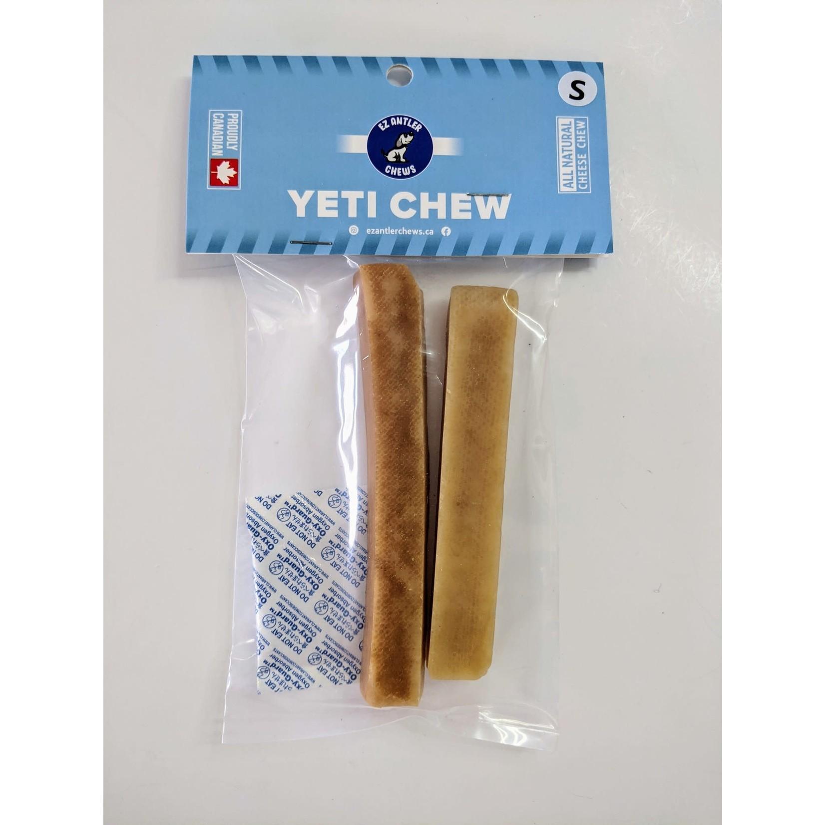 EZ Antler EZ Yeti Chew 100% Yak Milk Chew S 2PC