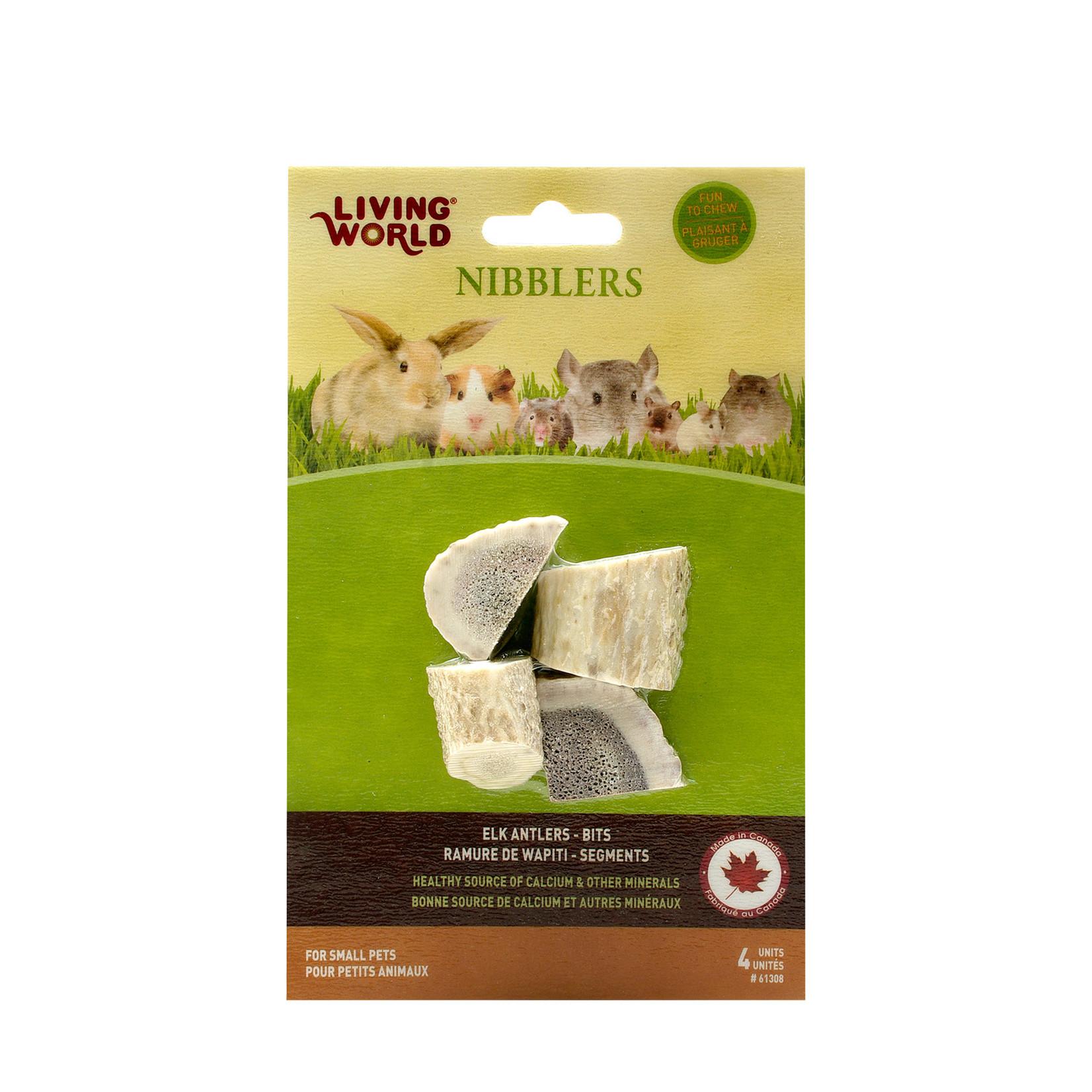 LW Nibblers Elk Antlers Bits 4 Pack 2.5oz