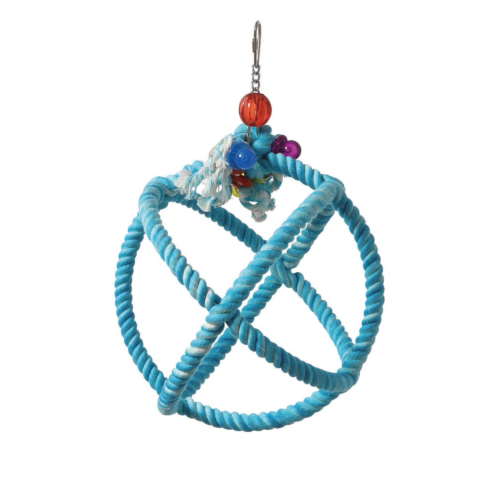 HR Smart Play Bird Toy Blue Rope Ball  S