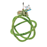 HR Smart Play Bird Toy Green Rope Ball XL