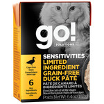 Go! Go! Cat can Sensitivities limited ingredient grain free Duck Pate