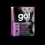 Go! Go! Cat Can carnivore grain free chicken+turkey + duck pate