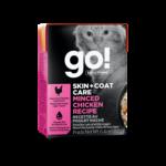 Go! Go! Cat Can skin +coat care minced chicken recipe