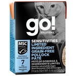 Go! Go! Cat Can sensitivities limited ingredients grain free pollock pate
