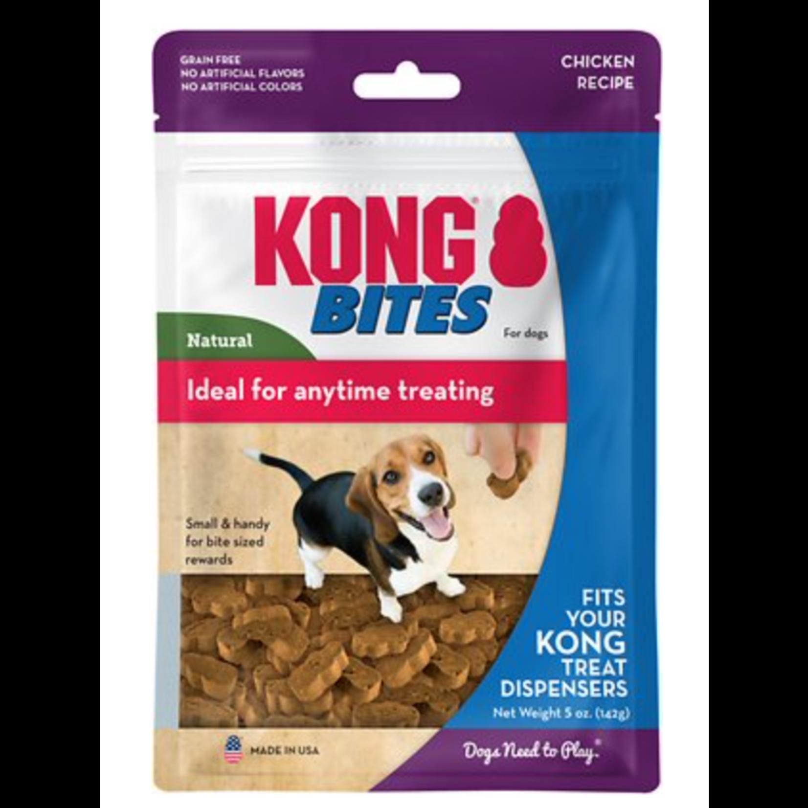 Kong Kong Bites Natural Small Sized Dog Treats 5 oz