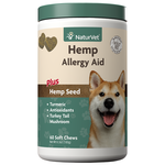 NaturVet Soft chew hemp allergy aid 60ct