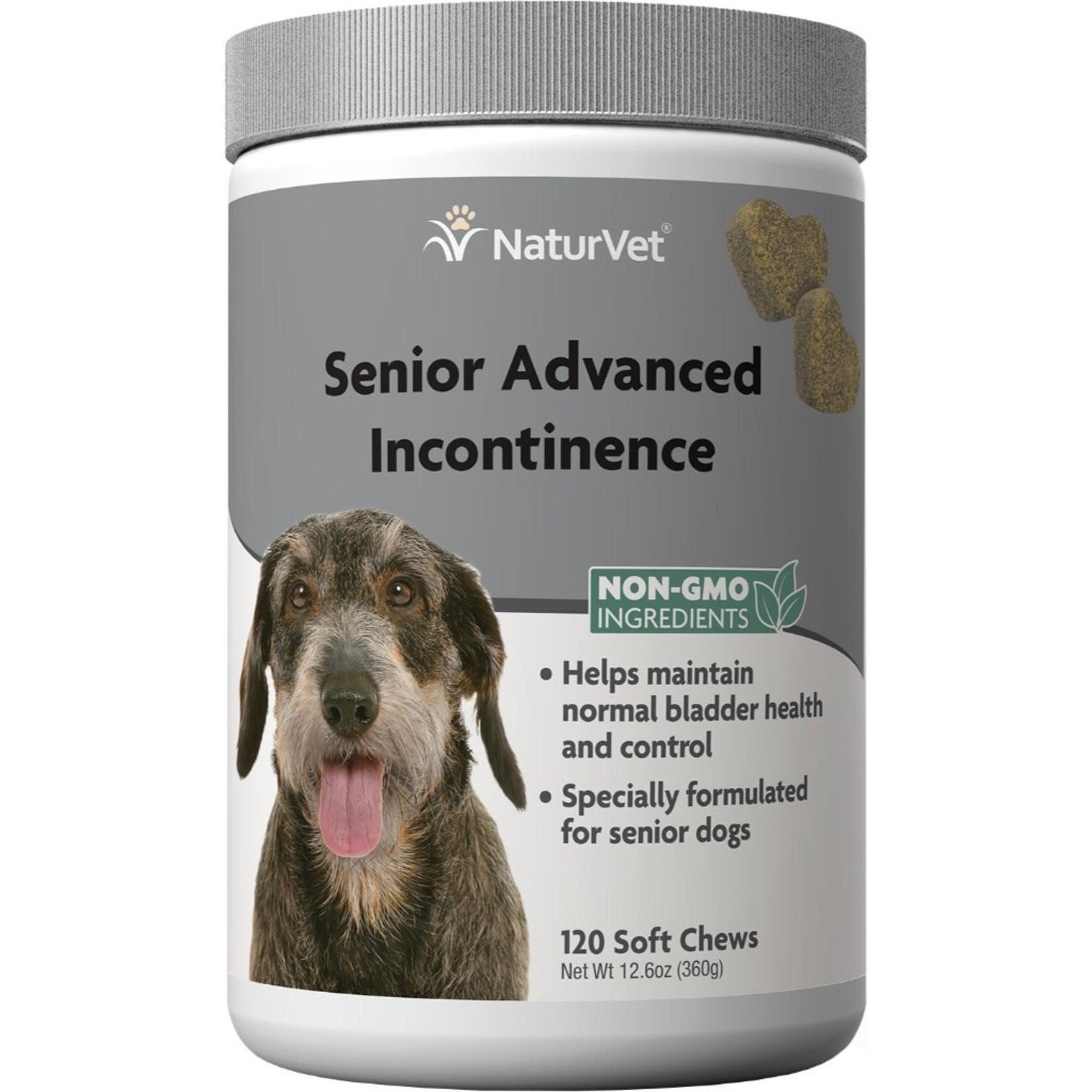 Naturvet Senior Incontinence Soft Chew 120CT