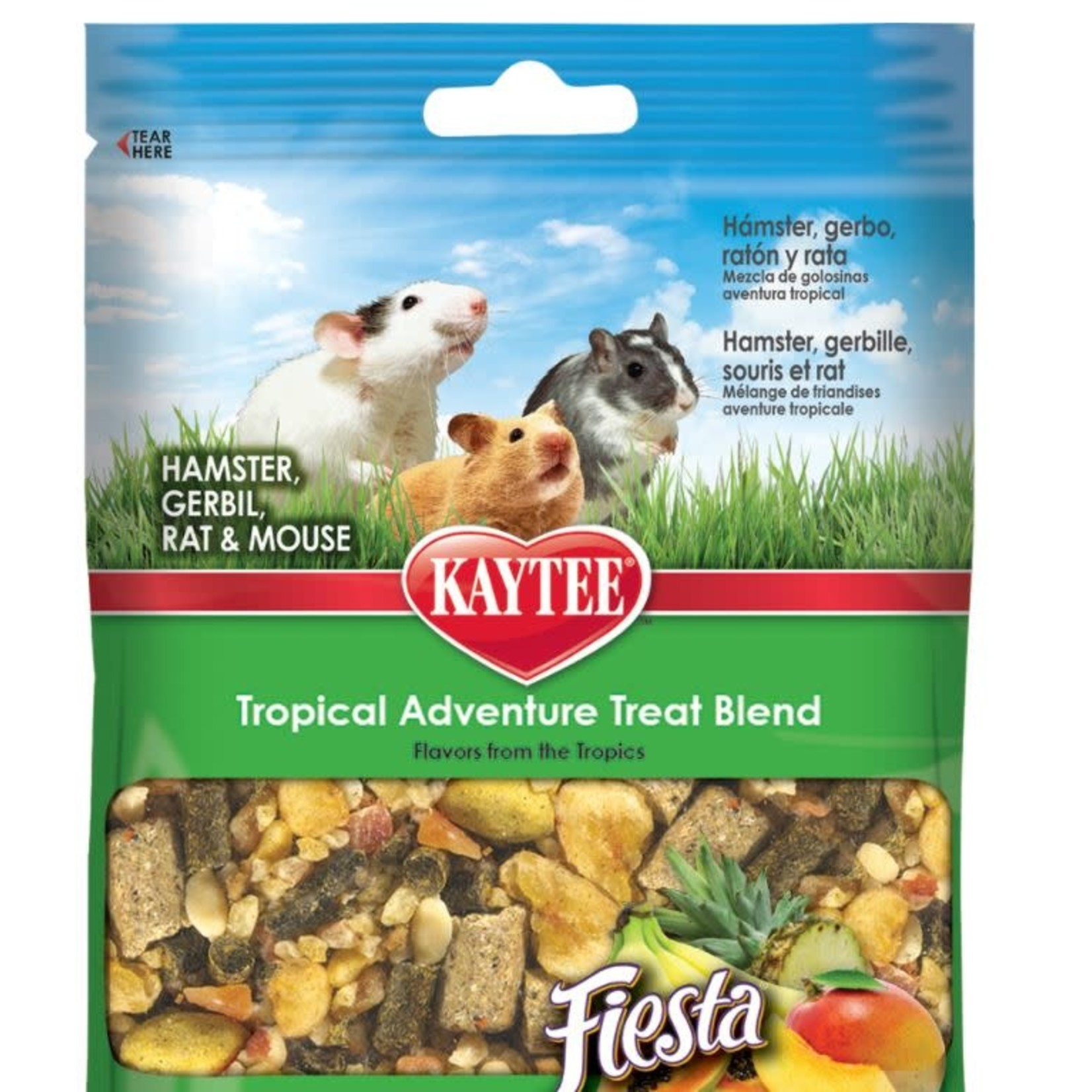 KAYTEE Kaytee Tropical Adventure Treat Blend for Small Pet 198.4g