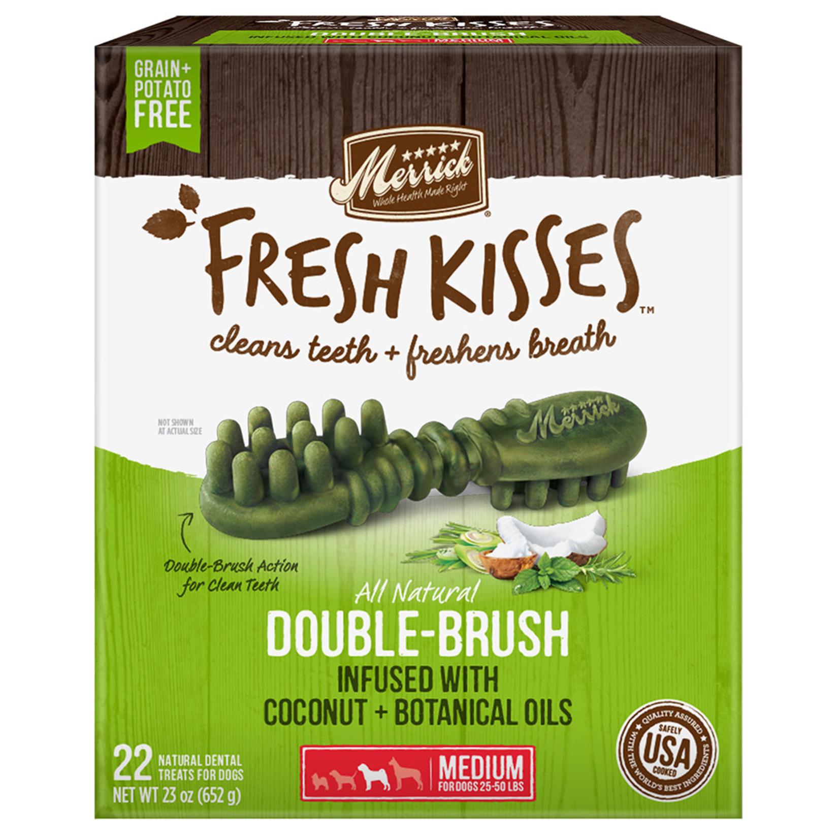 Merrick fresh Kisses Coconut Medium 22 CT- 23 OZ(625 gr)