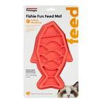 Petstage Fishie Fun Feed Mat Pink