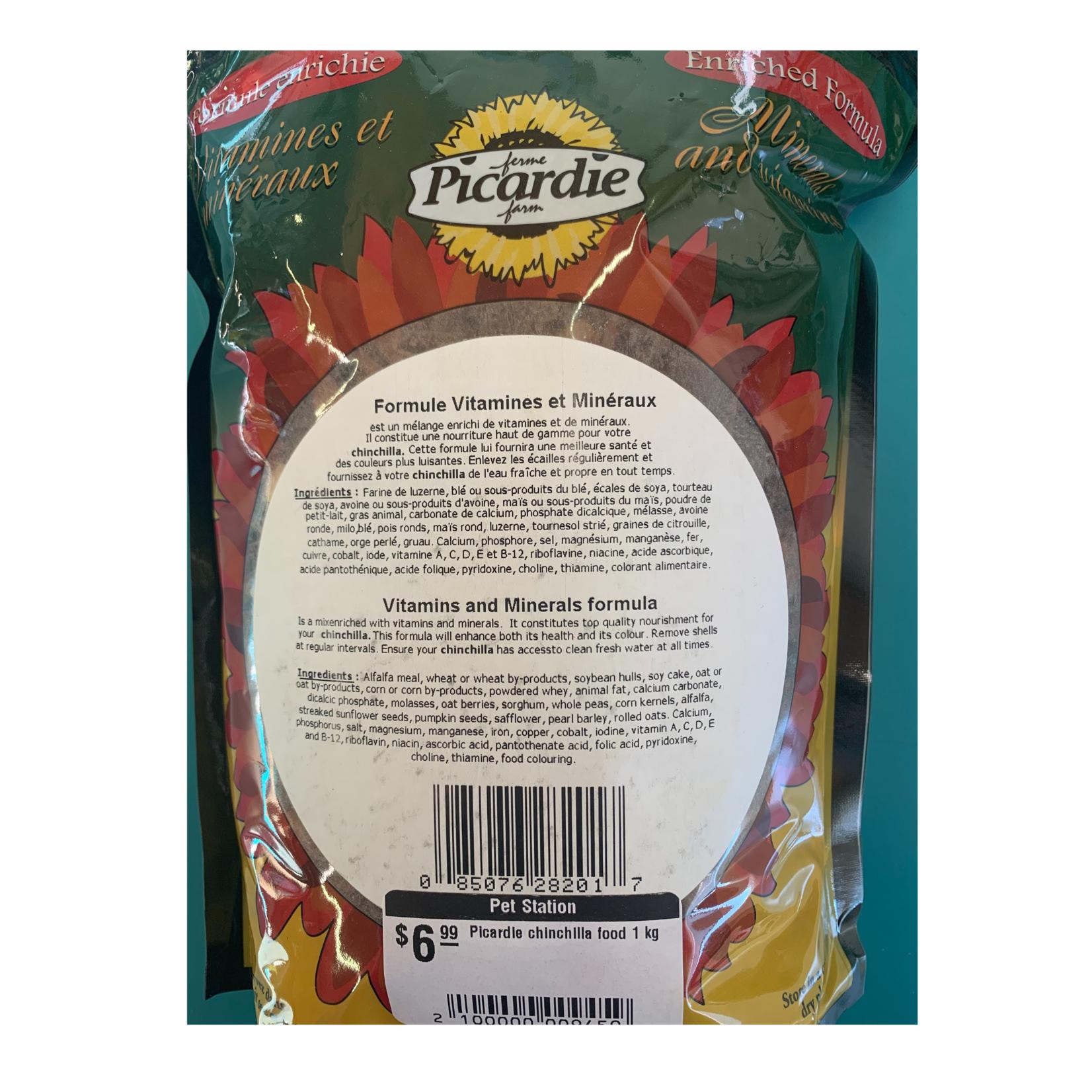 Picardie chinchilla food 1 kg