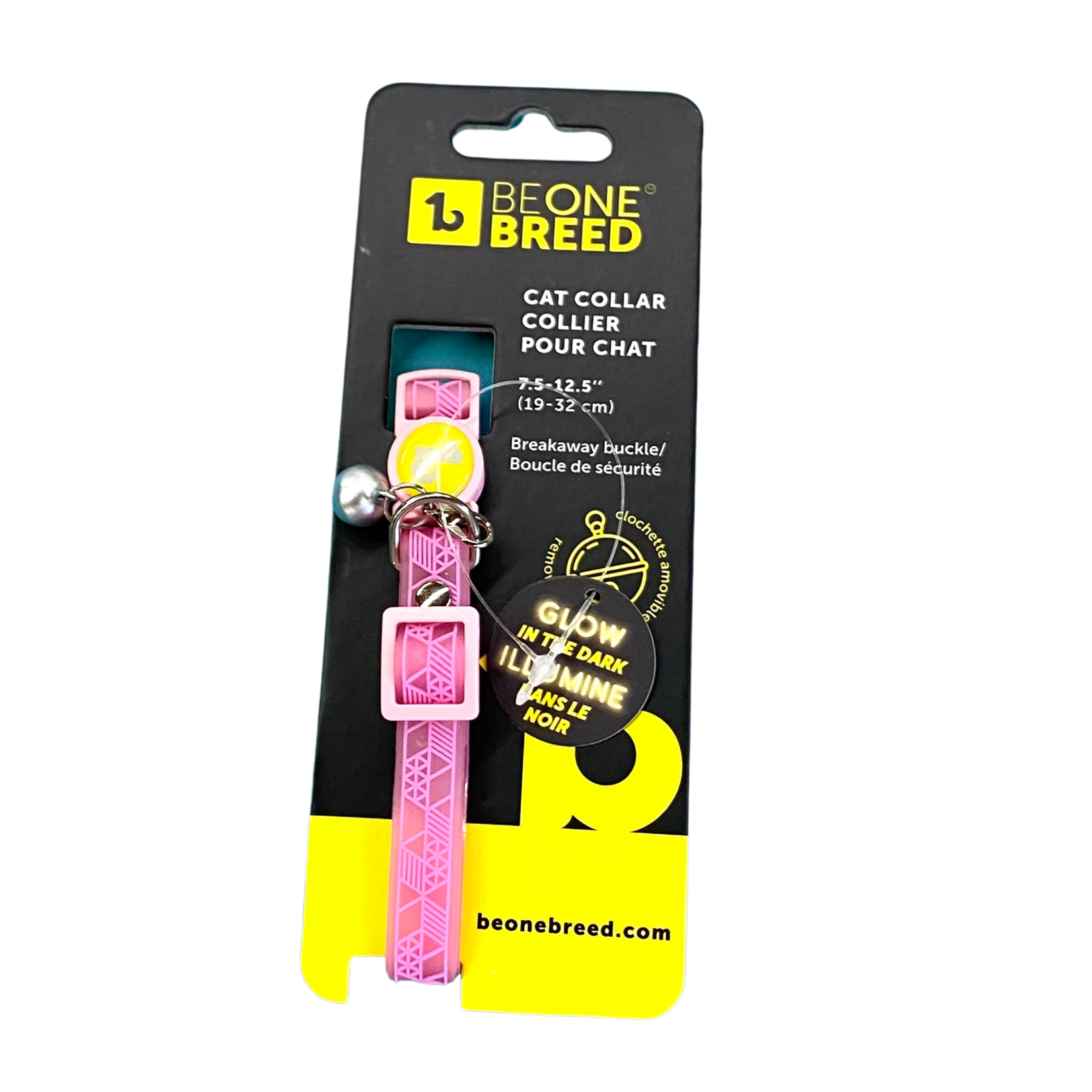 Be one Breed Be one Breed Silicone  Cat Collar Pink