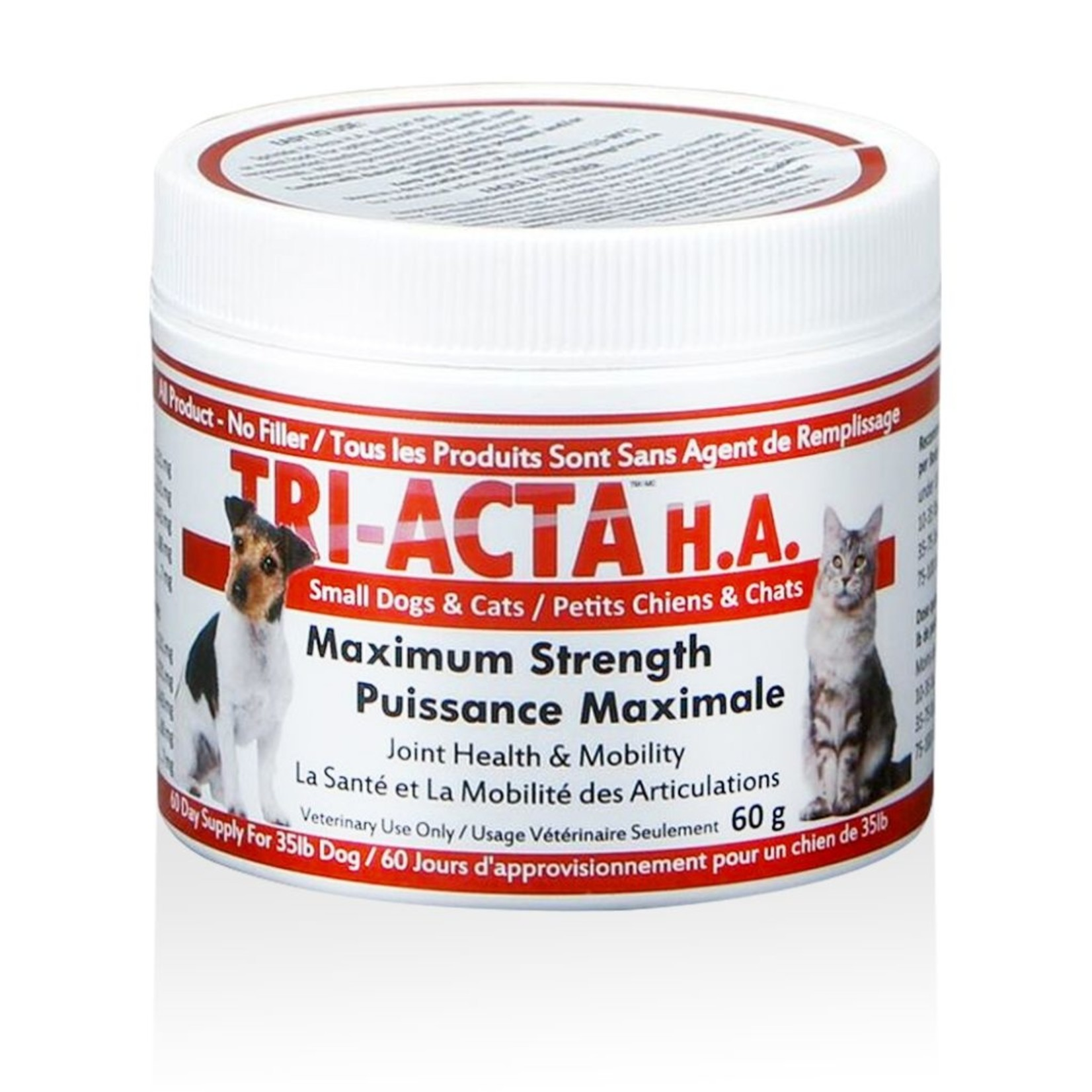Tri-Acta Maximum Strength Joint Health + Mobility  60g For Cats & Small Dogs